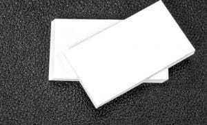 Tarjeta en blanco para carta de condolencias